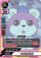 Bear DJ, Michelle [S-UB-C02/0047EN U (Regular)] English