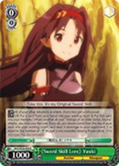 《Sword Skill Lore》 Yuuki [SAO/SE26-E08 R] English