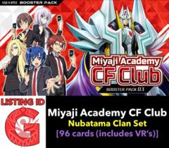 # Miyaji Academy CF Club [V-BT03 ID (G)]