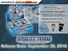 Legendary Duelists: White Dragon Abyss Bundle (B) - Get 4x Booster Boxes + Bonus Items * PRE-ORDER Ships Sep.28, 2018