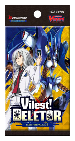 CFV-V-BT04 Vilest! Deletor (English) Cardfight Vanguard V-Booster Pack