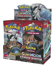 SM Sun & Moon - Crimson Invasion (SM04) Pokemon Booster Box [36 Packs]