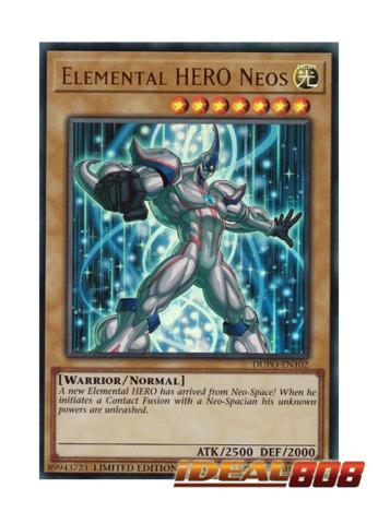 Elemental HERO Neos - DUPO-EN102 - Ultra Rare - Limited Edition