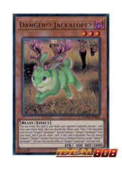 Danger!? Jackalope? - CYHO-EN085 - Ultra Rare - Unlimited Edition