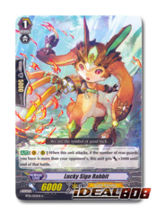 Lucky Sign Rabbit - BT15/055EN - C