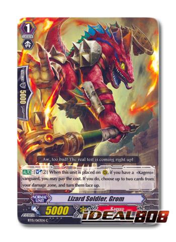 Lizard Soldier, Grom - BT15/063EN - C