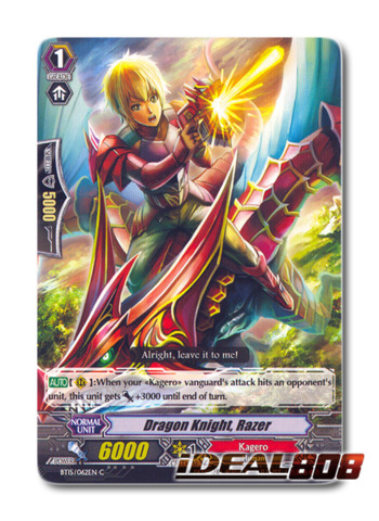 Dragon Knight, Razer - BT15/062EN - C
