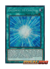 Gateway to Chaos - SHVA-EN058 - Secret Rare - 1st Edition