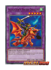 Alligator's Sword Dragon - SS02-ENB22 - Common - 1st Edition