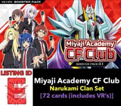 # Miyaji Academy CF Club [V-BT03 ID (E)]