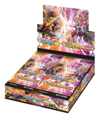 BFE-S-BT02A Blazing Overclash (English) Future Card Buddyfight Ace Booster Box [30 Packs]