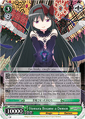 Homura Became a Demon [MM/W35-E034 R] English
