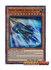 Super Express Bullet Train - LED4-EN035 - Ultra Rare - 1st Edition
