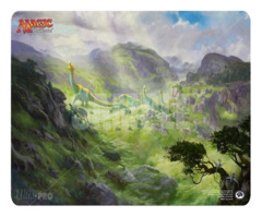 Magic the Gathering Rivals of Ixalan Playmat - Thunderherd Migration (#86663)
