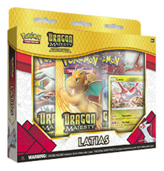 Dragon Majesty Pin Box - Latias