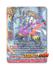 Fifth Omni Armored Dragon, Toxin Tenki [H-BT04/0022EN R (FOIL)] English