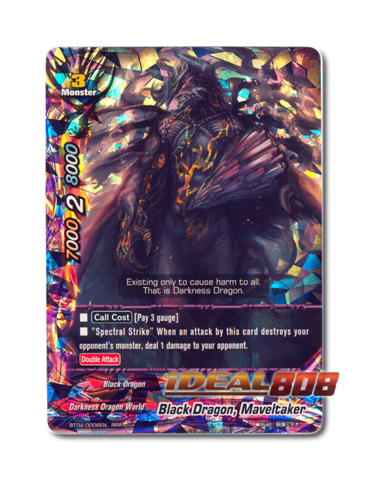 Black Dragon, Maveltaker - BT04/0006EN (RRR) Triple Rare