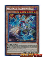 Knightmare Incarnation Idlee - DANE-EN017 - Secret Rare - Unlimited Edition