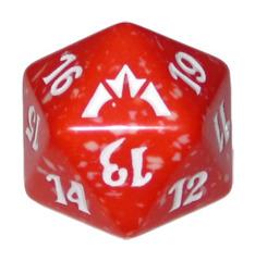 MTG Spindown 20 Life Counter - Gatecrash (Boros - Red/White)