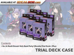 BanG Dream! Girls Band Party! [Roselia] (English) Weiss Schwarz  Trial Deck+ Box [Contains 6 Decks]
