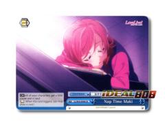 Nap Time Maki [LL/W34-E098 CR] English