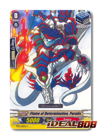 Flame of Determination, Puralis - BT15/066EN - C