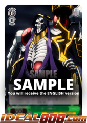 Master of Great Tomb of Nazarick, Ainz [OVL/S62-E026S SR (FOIL)] English