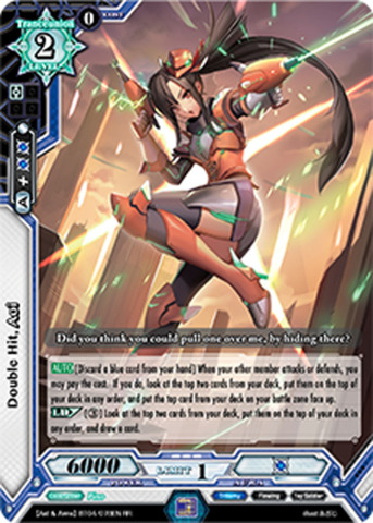 Double Hit, Aoi - BT04/078EN - SR (Special FOIL)