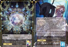 Machina, Clever Researcher // Memoria of the Seven Lands [BFA-093 R (Full Art Ruler)] English