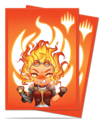 MtG Magic Chibi Collection Deck Protector Sleeves 100ct. - Chandra - Maximum Power [#86908]
