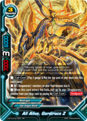 All Alive, Gordirocs Z [D-BT03/0016EN RR (FOIL)] English