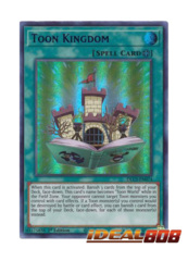 Toon Kingdom (Purple) - DLCS-EN074 - Ultra Rare - 1st Edition