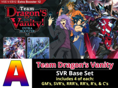 # Team Dragon's Vanity [V-EB12 ID (A)] SVR Base Set [4 of each SVR's, RRR's, RR's, R's, & C's (264 cards)]