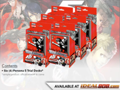 Persona 5 (English) Weiss Schwarz Trial Deck Box [Contains 6 Decks] * PRE-ORDER Ships Feb.16, 2018