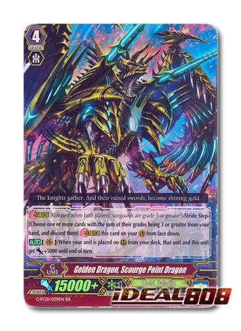 Golden Dragon, Scourge Point Dragon - G-FC01/029EN - RR