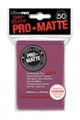 Ultra Pro Matte Non-Glare Large Sleeves 50ct. - Blackberry (#84505)