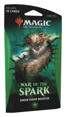 War of the Spark (WAR) Themed Booster Pack - Green [35 cards]