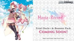 Magia Record: Madoka (Mobile Game version) (English) Weiss Schwarz Trial  Deck+ Box [Contains 6 Decks] * COMING 2021