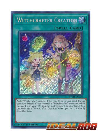 Witchcrafter Creation - INCH-EN020 - Secret Rare - 1st Edition