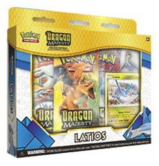 Dragon Majesty Pin Box - Latios