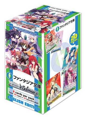 Fujimi Fantasia Bunko (English) Weiss Schwarz Booster Box [20 Packs] * PRE-ORDER Ships Apr.17