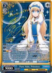 Pure Aide, Priestess [GBS/S63-E064SP SP (SIGNED FOIL)] English