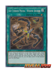 Sky Striker Mecha - Widow Anchor - BLHR-EN092 - Secret Rare - 1st Edition