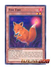 Fox Fire - BP01-EN010 - Rare - 1st Edition