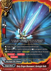 Deity Dragon Beamsword, Garknight Knife [S-BT06/0052EN C (FOIL)] English