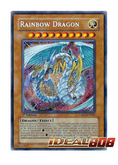 Rainbow Dragon - TAEV-EN006 - Secret Rare - 1st Edition