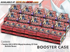CFV-V-BT03 Miyaji Academy CF Club (English) Cardfight Vanguard V-Booster  Case [20 Boxes]