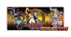 Gold Series 4 Playmat - Yugi with Dark Magician & Dark Magician Girl