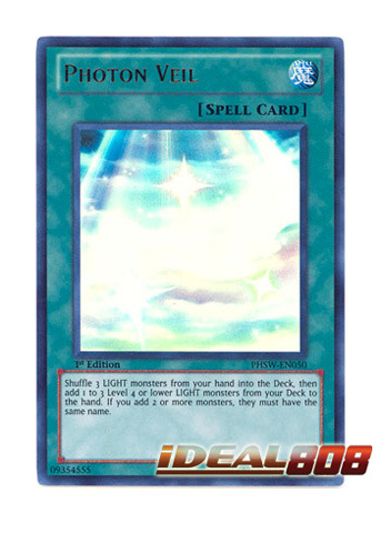 Photon Veil - PHSW-EN050 - Ultra Rare - Unlimited Edition