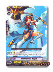 Battle Sister, Maple - TD04/010EN - TD (common ver.)